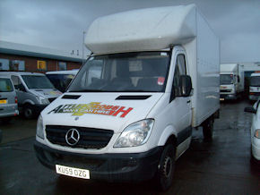 Luton body van for hire Attleborough