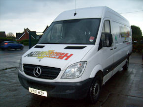 Sprinter Van for hire Attleborough